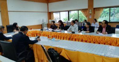 การประเมินคุณภาพการศึกษาภายใน ระดับหลักสูตรศิลปศาสตรบัณฑิต สาขาวิชาภาษาไทย ประจำปีการศึกษา 2560