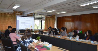 การประเมินคุณภาพการศึกษาภายใน ระดับหลักสูตรศิลปศาสตรบัณฑิต สาขาวิชาภาษาจีนและอังกฤษเพื่อการสื่อสาร ประจำปีการศึกษา 2560